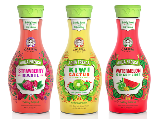 Califia Farms Introduces Aguas Frescas at Whole Foods Nationwide