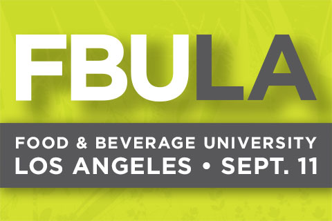 "BevNET FBU Brings ""Food & Beverage University"" to L.A. on Sept. 11, 2014"