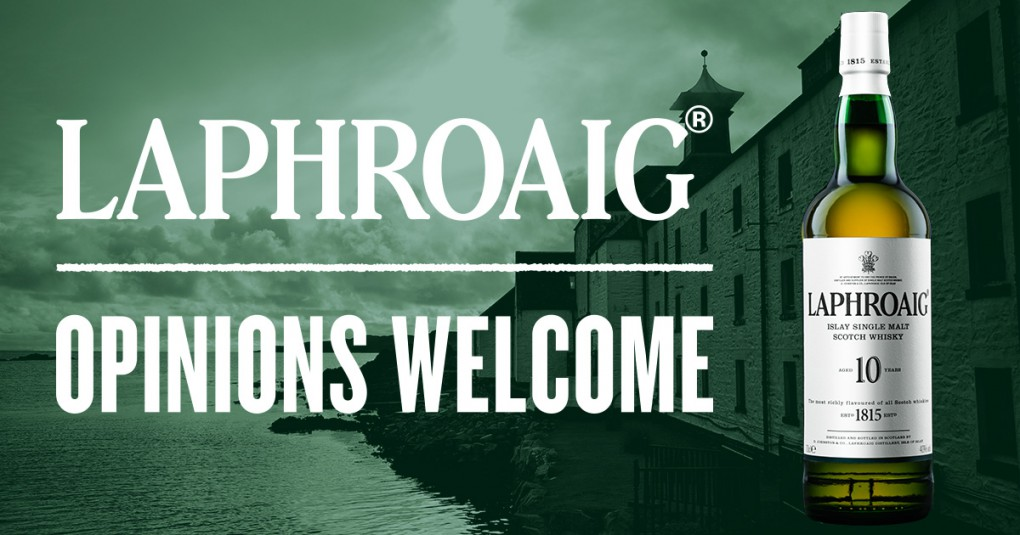 Laphroaig Single Malt Scotch Whisky Launches #OpinionsWelcome Campaign