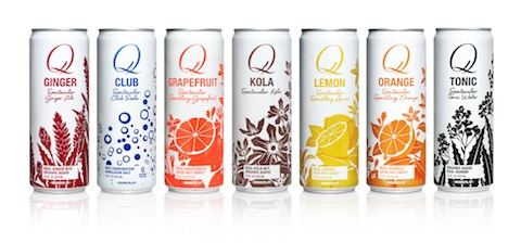 Q Drinks Launches Seven Flavors in Rexam Sleek Cans