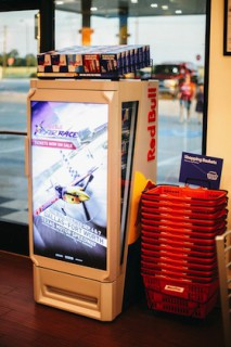 Red Bull Multimedia Cooler with Air Race footage Photo by Wesley Kirk