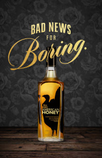 Wild Turkey American Honey Launches Bad News for Boring Campaign