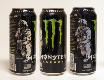Press Clips: Why the Military Loves Monster Energy