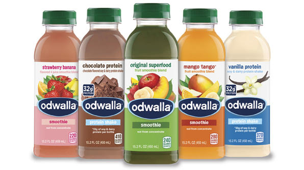 Odwalla Looks for Clear Advantage with New Packaging