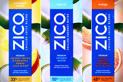 ZICO Introduces Chilled Premium Coconut Water & Juice Blends
