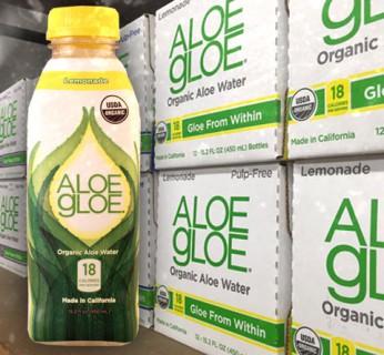 Review: Aloe Gloe Lemonade