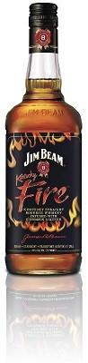Jim Beam Kentucky Fire Bottle