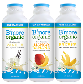 B'More Organic Introduces Strawberry to its Skyr Smoothie Line