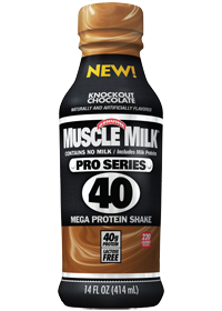 muscle milk 40