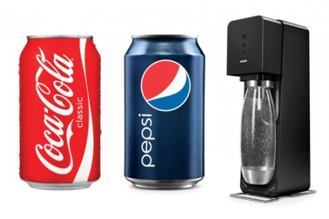 Press Clips: Soda Makers Switch It Up