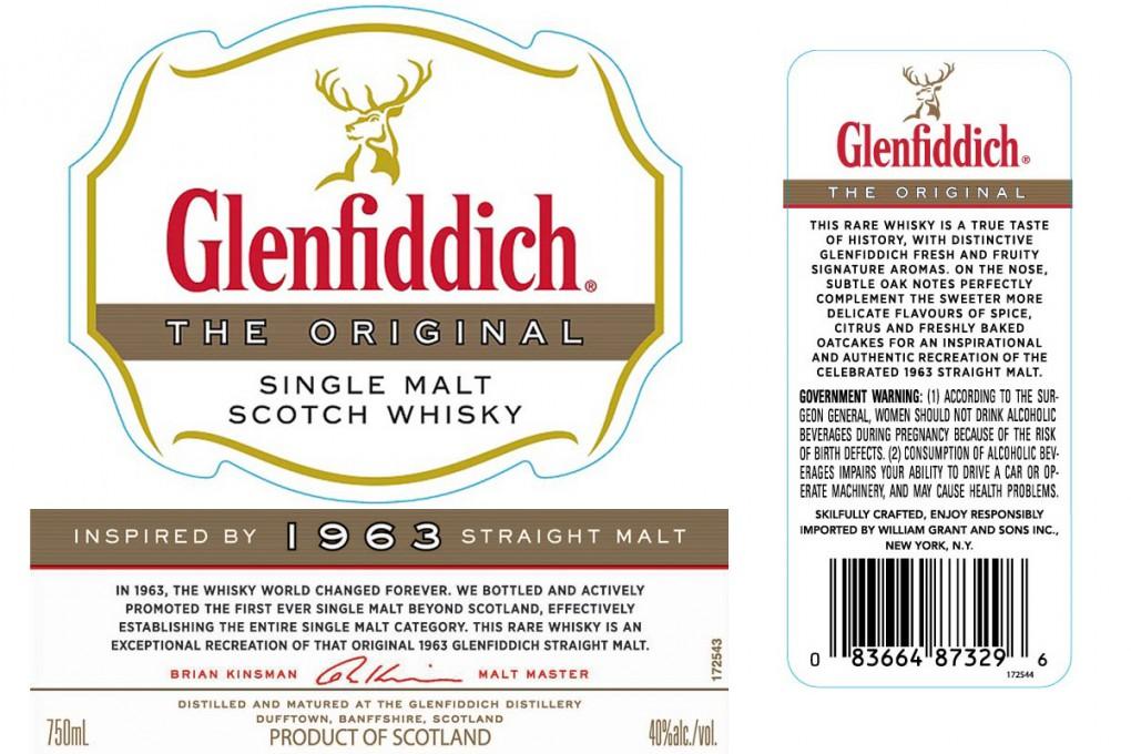 Glenfiddich Recreates its Original 1963 Straight Malt Whisky