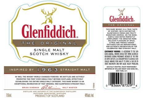 Glenfiddich 1963 Straight Malt