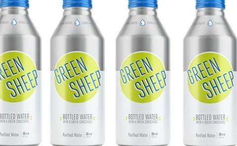 Green Sheep Water Launches in Ball's Alumi-Tek Bottle