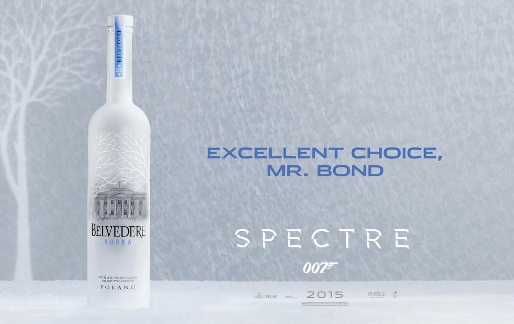 Belvedere Vodka Announces Partnership with New James Bond Movie