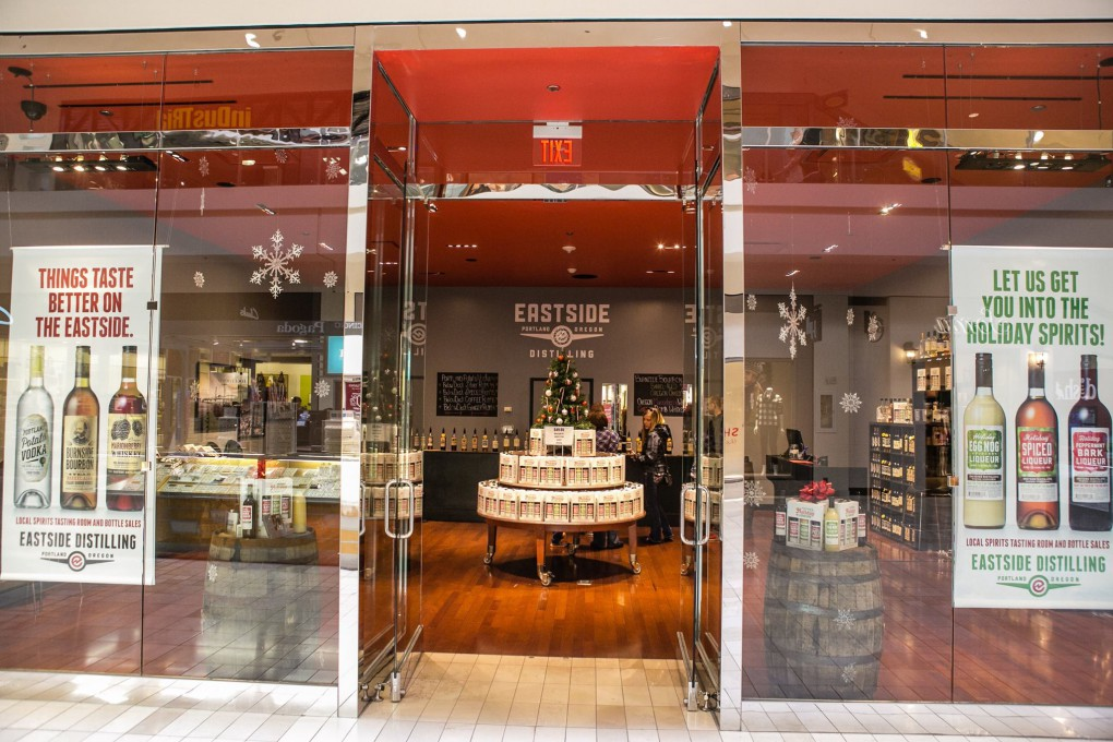 Eastside Distilling Opens Concept Store in Oregon Mall