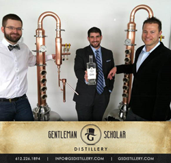 Gentleman Scholar Distillery Opens in Minnesota