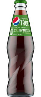 Pepsi True 12 oz. bottle