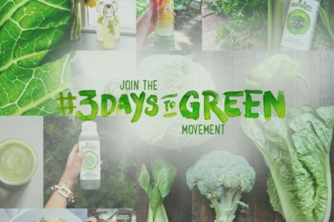 "Evolution Fresh Launches ""3 Days to Green"" Campaign"