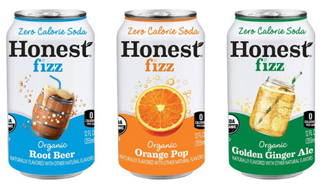 A Wider Look: Honest Fizz Goes Fully Organic and Gets a New Can