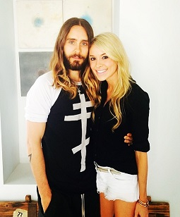 Jared Leto and Suja co-founder Annie Lawless