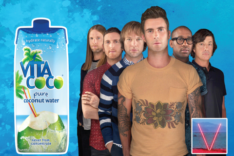 "Vita Coco to Accompany Maroon 5 Throughout 27 Date ""V"" Tour"