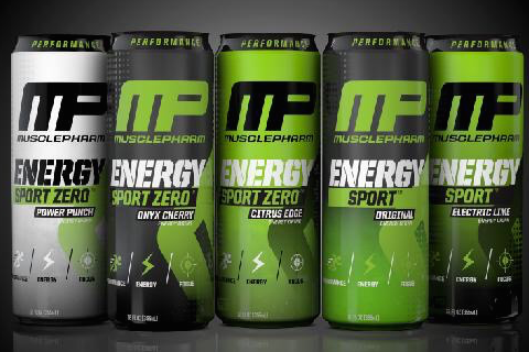 MusclePharm Enters the Energy Drink Category, Will Debut 'MusclePharm Energy Sport' at Arnold Sports Festival