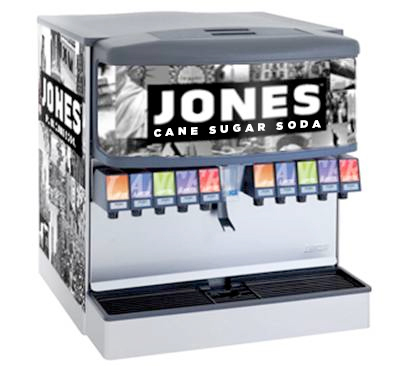 Jones Soda Launches Cane Sugar Fountain Program