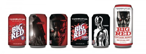 Big Red Limited-Edition Terminator Genisys Can Series
