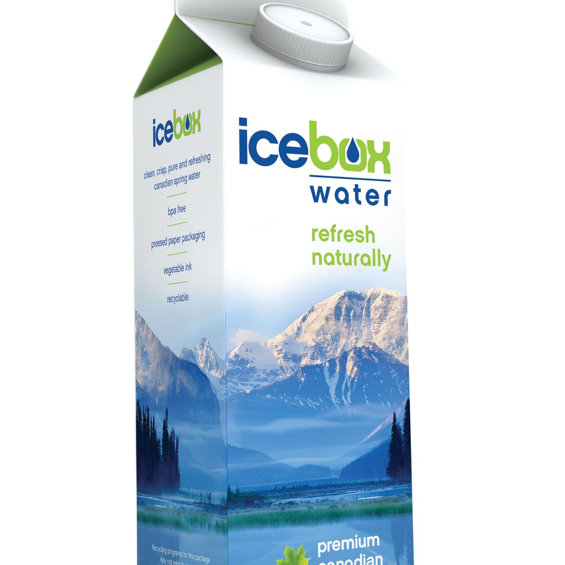 Icebox Water Announces its Support of Charity Water