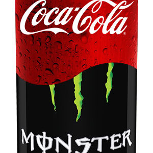 Monster coca cola