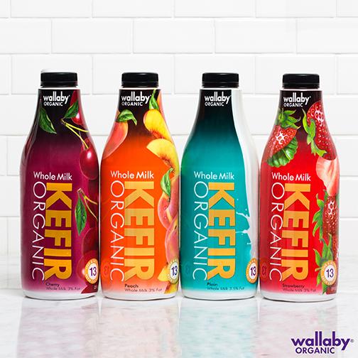 Wallaby Yogurt Company Introduces Organic Whole Milk Kefir