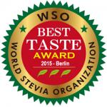 SweetLeaf Awarded World Stevia Organization's 2015 Best Taste Award