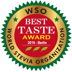 SweetLeaf Awarded World Stevia Organization's 2015 Best Taste Award
