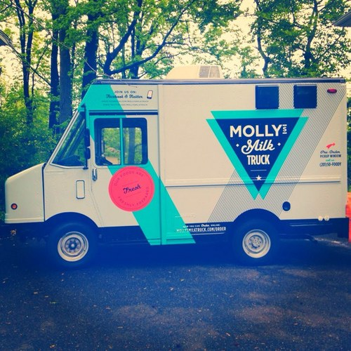 Molly's Milk Truck Taps 'Molly Man' to Help New Yorkers Beat the Heat