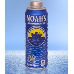Noah's Spring Water Now Available in Rexam's 24 oz. Cap Can
