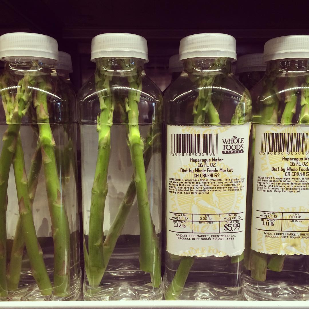 Whole Foods Addresses Asparagus Water Snafu