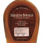 A.  Smith Bowman Distillery Releases Limited Edition High Rye Bourbon