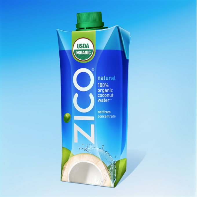 ZICO Launches Certified Organic Fair Trade Coconut Water