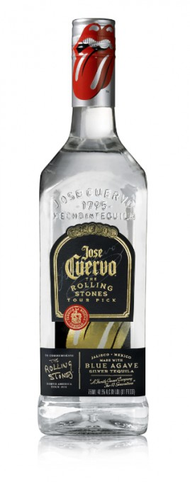 Jose Cuervo The Rolling Stones bottle
