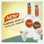 Pearl Vodka Introduces Limited-Edition Pumpkin Spice and Chocolate Hazelnut Varieties