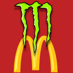 Monster Energy Being Sold in 20 McDonald's Stores