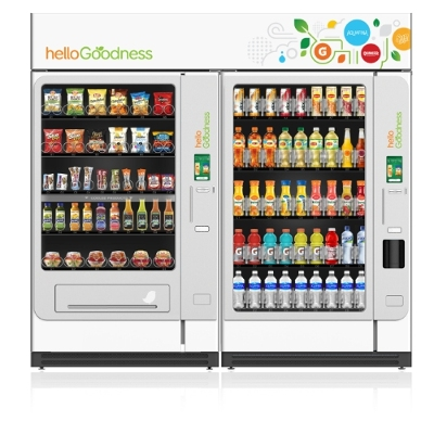 PepsiCo Unveils Hello Goodness Vending Machines Ahead of 2016 Launch
