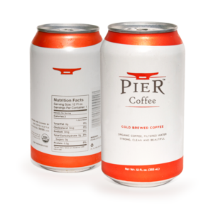 Pier Coffee Launches Organic, Preservative Free Canned Cold Brew