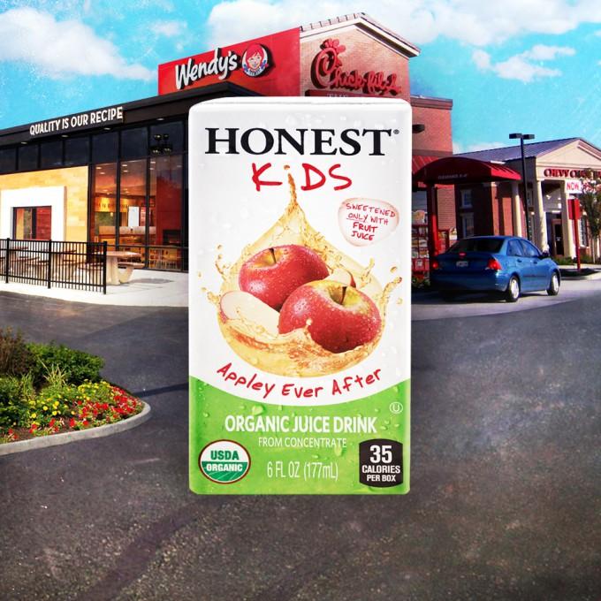 Chick-fil-A Adds Honest Kids' 'Appley Ever After' to Menu