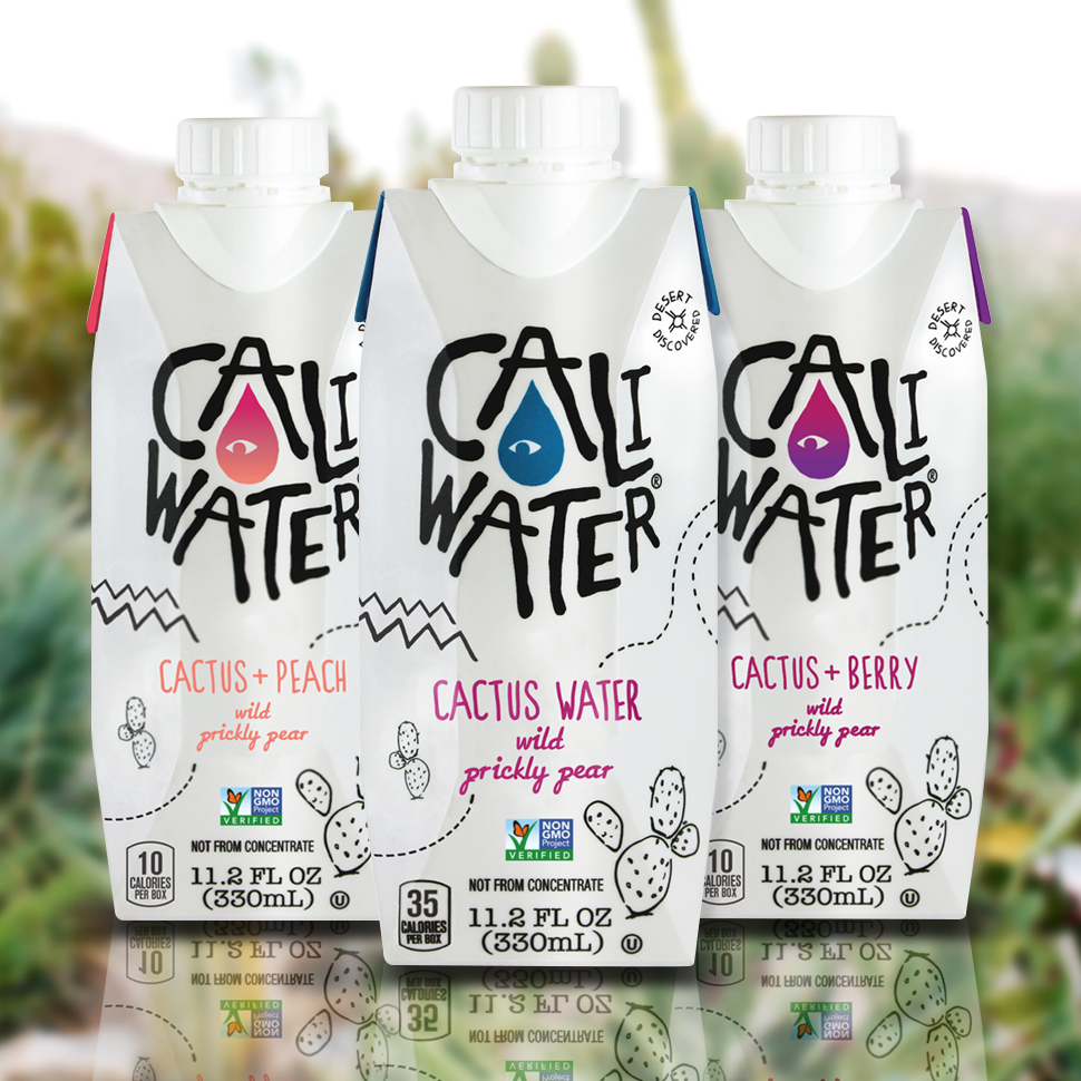 Caliwater Adds Peach and Berry Flavors to its Range
