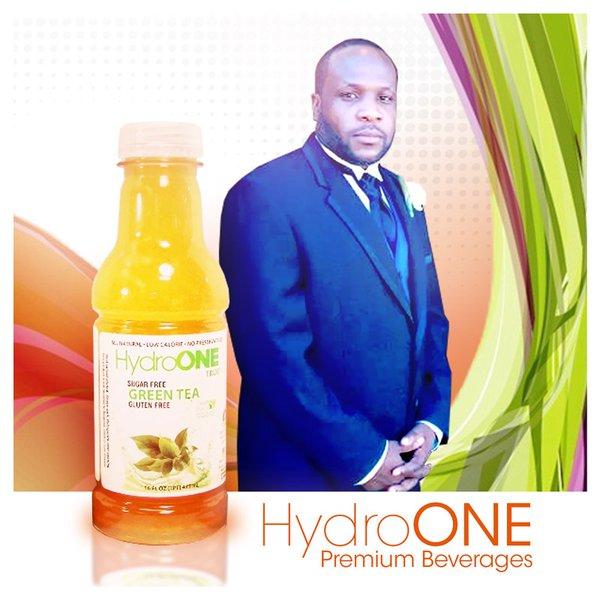 Hydro One Premium Beverages Brings Edwin Freeman on as Brand Ambassador