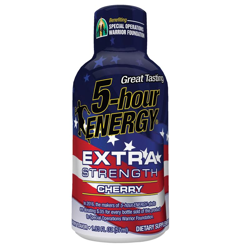 5-Hour Energy Launches Extra Strength Cherry Flavor