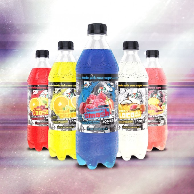 Jones Soda Develops Co-Branded Soda Line for 7-Eleven