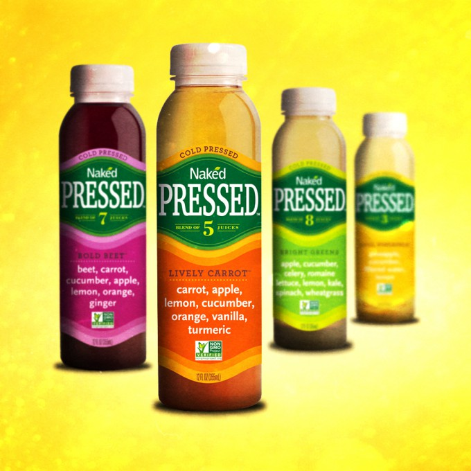 "Naked Juice Launches HPP Sub-Line Called ""Naked Pressed"""