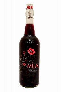 Mija Sangria flip top 750ml bottle. (PRNewsFoto/Latitude Beverage Company)